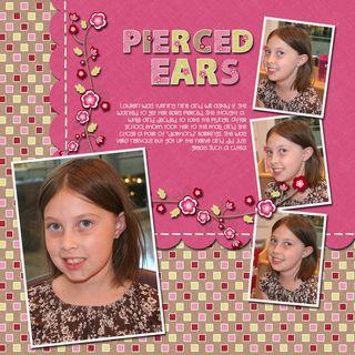 Pierced ears copy