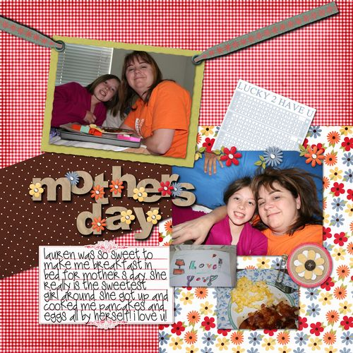 Mothers day copy