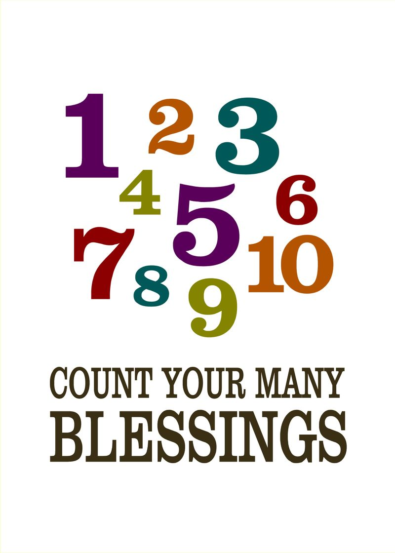 Just Because - Count Your Many Blessings - Sprik Space[1]